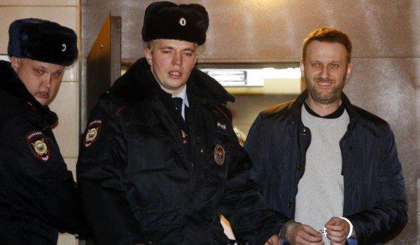 Alexei Navalny jailed 2015