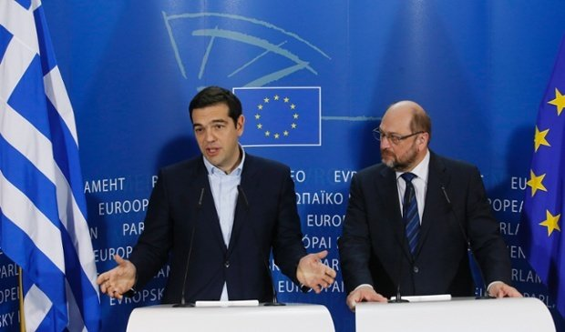 Alexis Tsipras EU talks Brussels