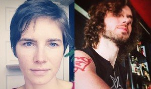 Amanda Knox and Colin Sutherland
