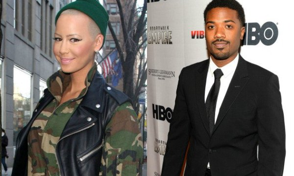 Amber Rose and Ray J