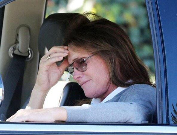 Bruce Jenner texting car crash