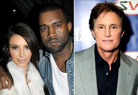 Bruce Jenner transitioning Kanye West and Kim Kardashian