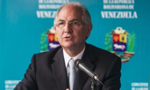 Caracas Mayor Antonio Ledezma indicted
