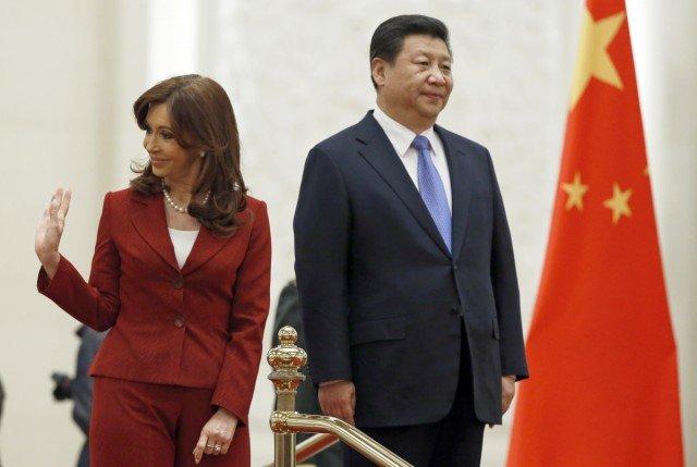 Cristina Fernandez de Kirchner Twitter Chinese accent