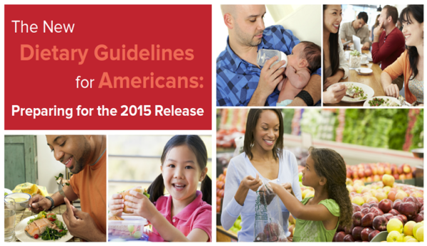 Dietary Guidelines for Americans 2015