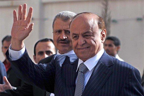 Former Yemeni President Abd Rabbuh Mansur Hadi flees Sanaa