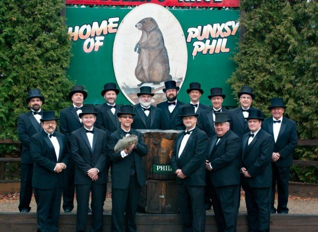 Groundhog Day 2015 Punxsutawney Phil