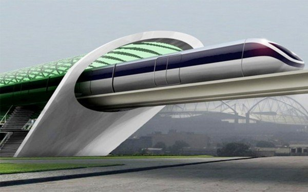 Hyperloop to be built in California