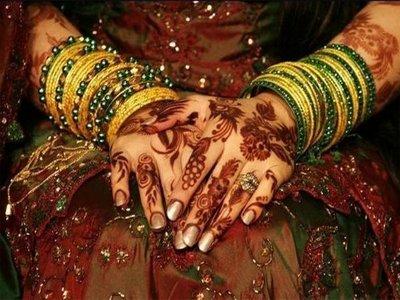 Indian bride marries wedding guest