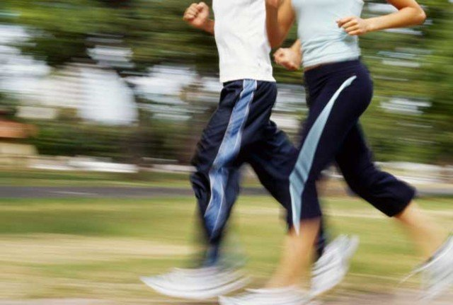 Intense jogging is unhealthy