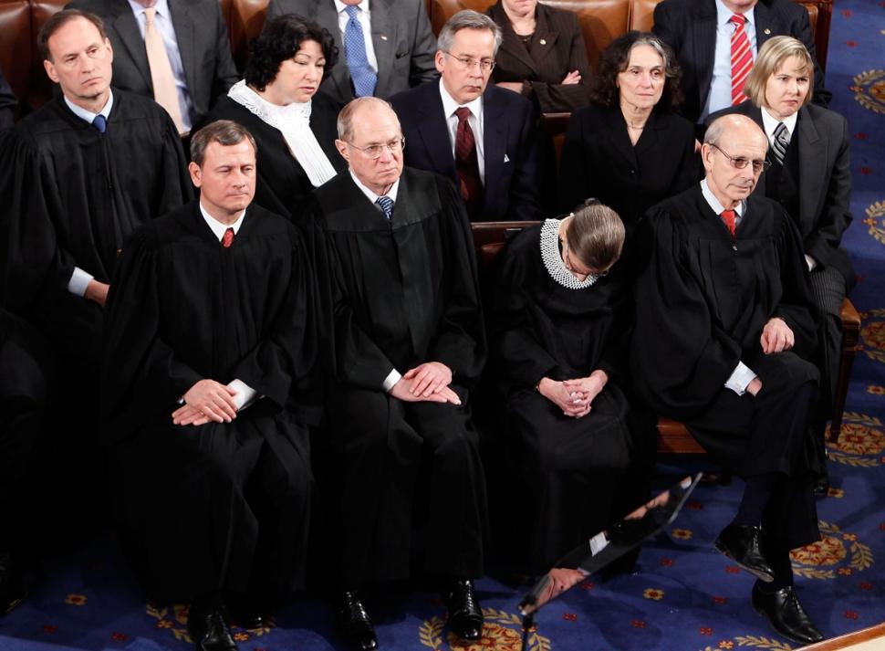 justice ruth bader ginsburg admits she was not sober at state of the union address. Black Bedroom Furniture Sets. Home Design Ideas