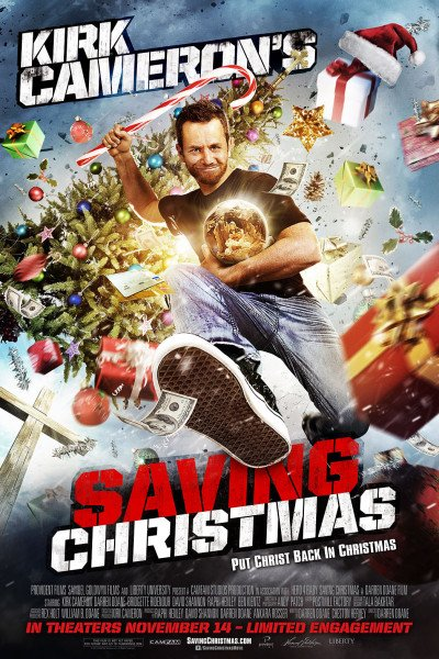 Kirk Cameron's Saving Christmas big winner at Razzies 2015
