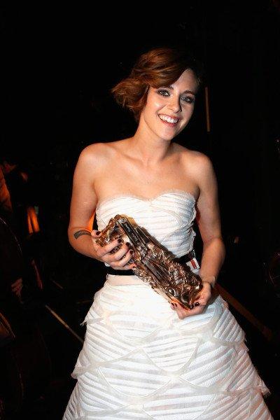 Kristen Stewart wins Cesar award 2015