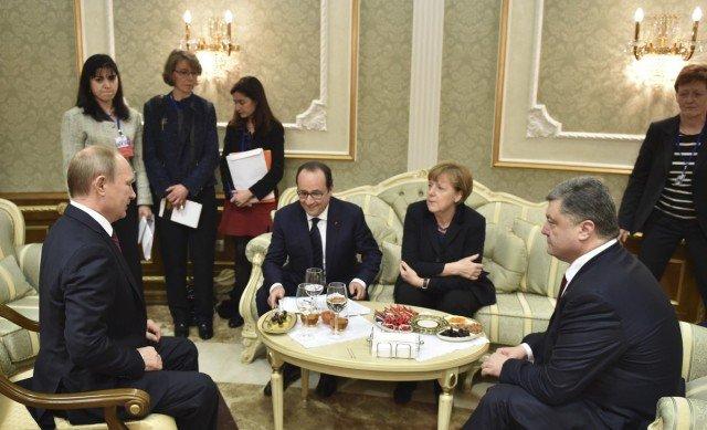 Minsk talks Ukraine ceasefire 2015
