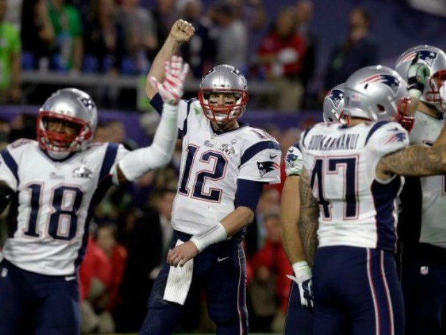 New England Patriots win Super Baowl 2015