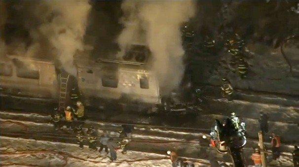New York Metro North train crash 2015