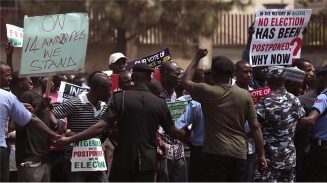 Nigeria elections 2015 postponed