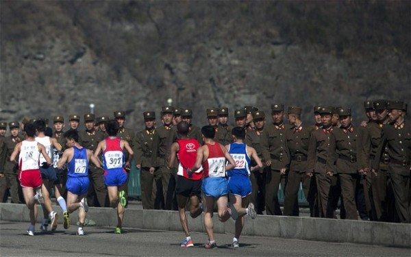 Pyongyang Marathon Ebola