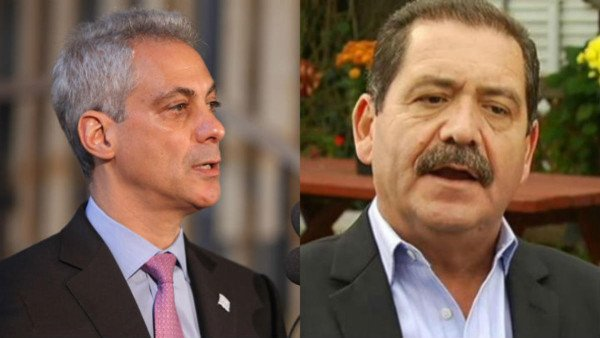 Rahm Emanuel against Chuy Garcia Chicago mayoral elections 2015
