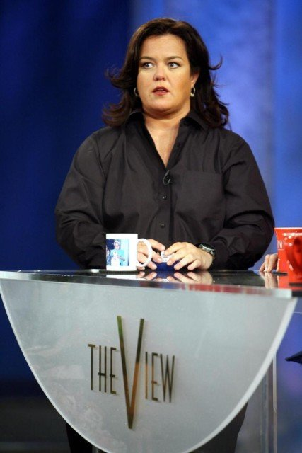 Rosie O'Donnell leaves The View