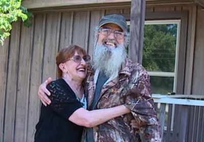 Si Robertson and wife Christine