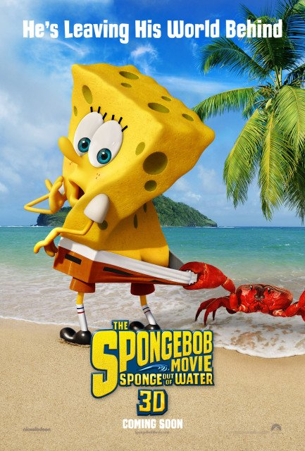 The SpongeBob Movie Sponge Out of Water tops US box office