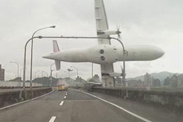 TransAsia Flight GE235 crash