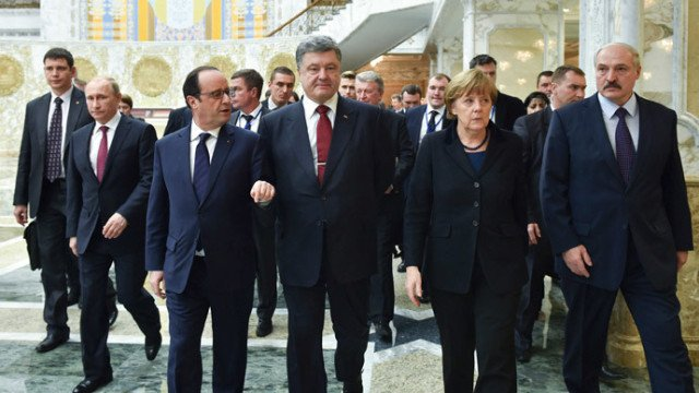 Ukraine peace talks Minsk 2015