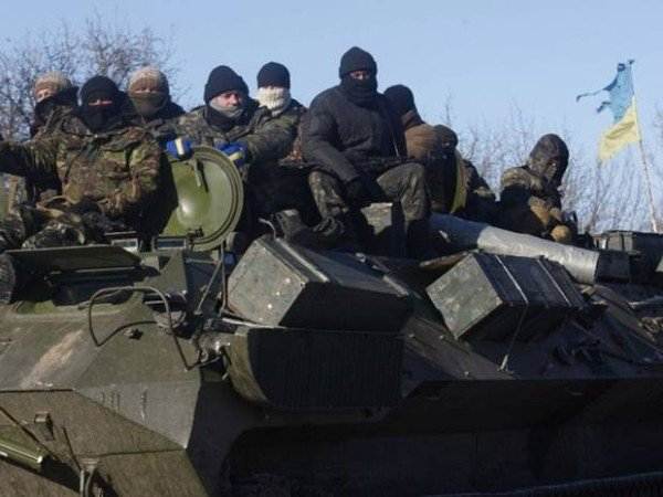 Ukraine troops retreat from Debaltseve