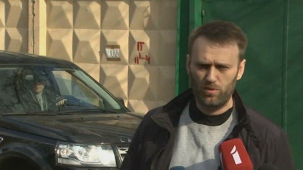 Alexei Navalny released from prison 2015