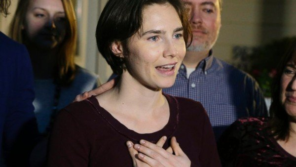 Amanda Knox about final verdict
