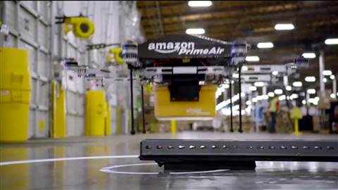 Amazon Prime Air drone testing