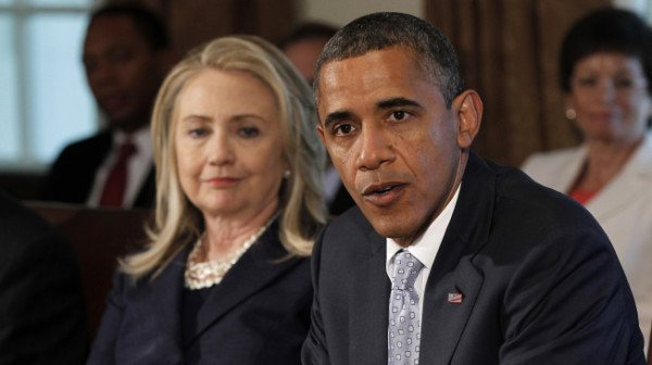 Barack Obama emailed to Hillary Clinton's private address (Photo AP)
