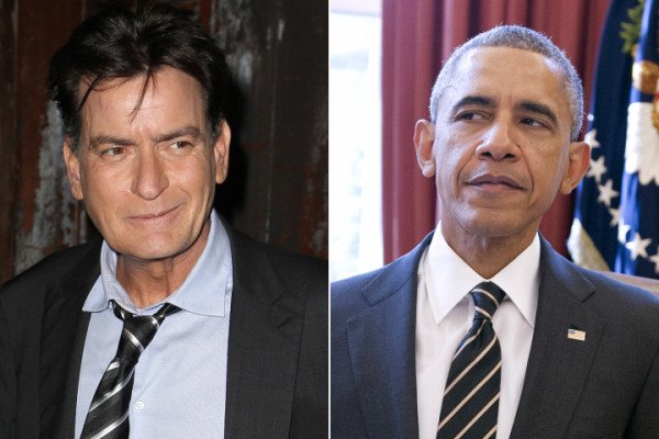 Charlie Sheen racist rant against Barack Obama