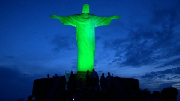 Christ the Redeemer St Patrick's Day 2015