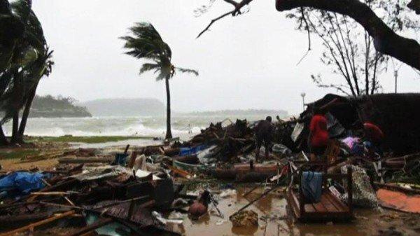 Cyclone Pam Vanuatu devastation
