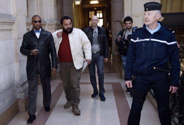 Dieudonne M'bala M'bala found guilty of condoning terrorism