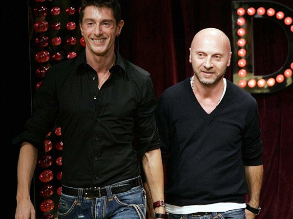 Domenico Dolce and Stefano Gabbana in Elton John boycott scandal