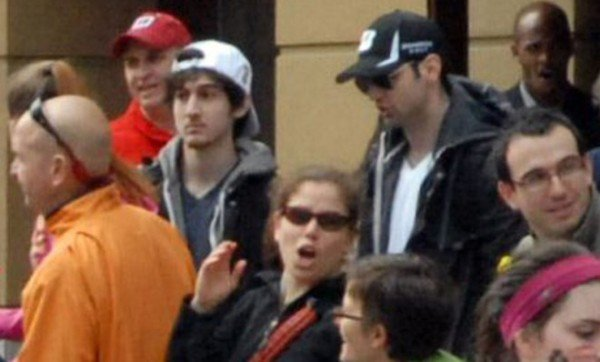 Dzhokhar and Tamerlan Tsarnaev Boston Marathon 2013