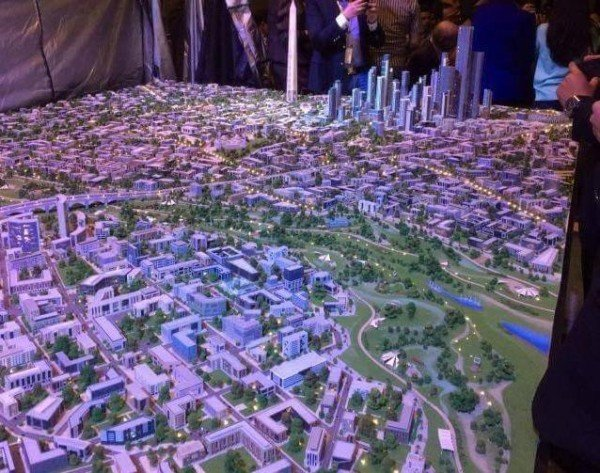 Egypt's new capital city plans