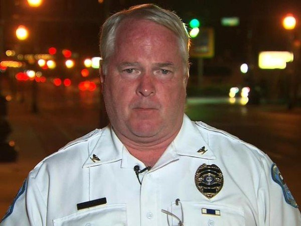 Ferguson police chief Thomas Jackson resignation