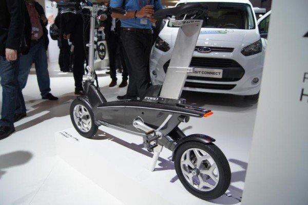 Ford electrical bike MWC 2015
