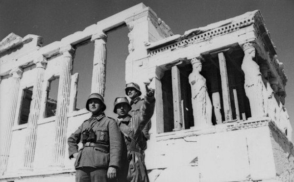 Greece threatens Germany over Nazi occupation debt