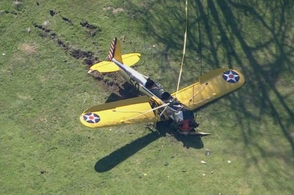 Harrison Ford plane crash California