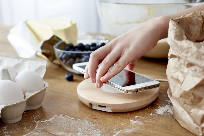 Mwc 2015 ikea launches wireless charging furniture home - Phone charging furniture the future in your home ...