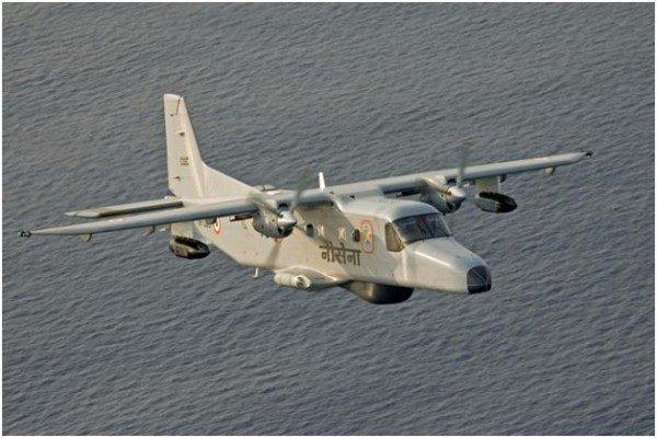 Indian navy plane crash