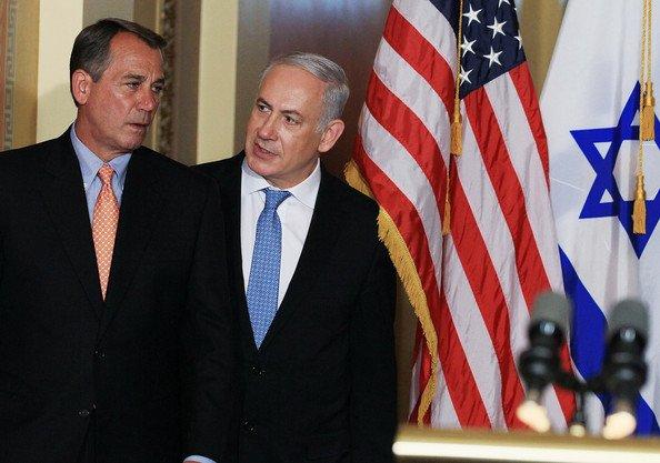 John Boehner to visit Benjamin Netanyahu in Israel
