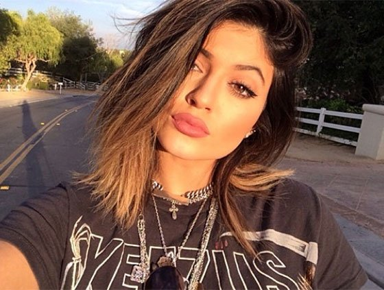 Kylie Jenner weight gain 2015