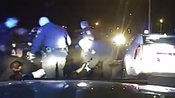 Michigan police beating Floyd Dent
