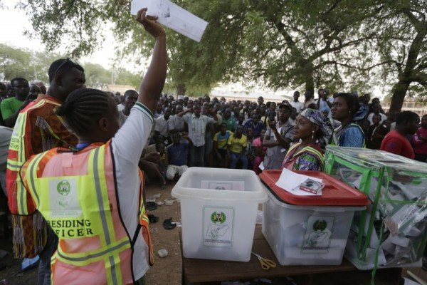 Nigeria elections 2015 counting
